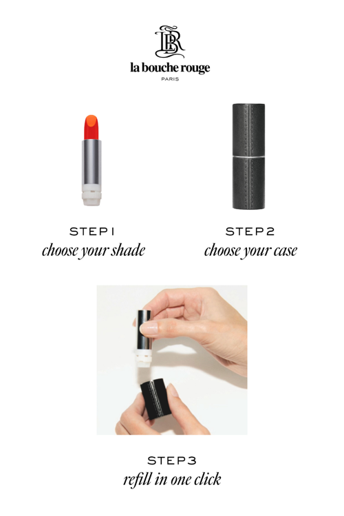 LIPSTICK REFILL BAUME ROUGE